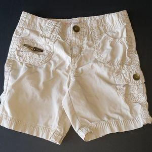 🌴 Justice Khaki Cargo Shorts